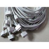 Cable de transmisión con la pista de 5pins Magsafe para el cargador del cuaderno de Apple MacBook 60With85W