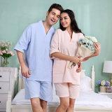 선전용 호텔 /Home 한 쌍 면 와플 욕의/목욕 한 벌/잠옷/잠옷/Sleepwear