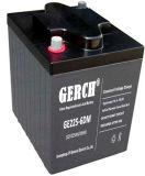 Bateria acidificada ao chumbo livre para o carro de golfe, bateria do AGM da manutenção de Ge225-6dm de carro, cadeira de roda