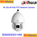Dahua 200m IR 8megapixel 4K 30Xの光学ズームレンズPoe PTZ IPのカメラSD6ae830V-Hni