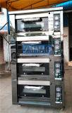 Padaria do gás de Pavailler única com função do cozimento do forno da plataforma do vapor (ZMC-420M)