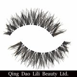 2017 синтетические волосы моды ложных Eyelash черного цвета