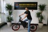 bici eléctrica de la potencia verde de 72V 8000W
