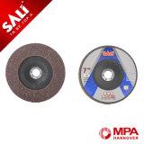 Rueda abrasiva de aluminio calcinada T27/T29 directa de la venta de la fábrica para el metal de pulido