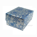 Cadre de bijou de empaquetage de papier de bijou de cadeau de luxe fait sur commande en gros de logo