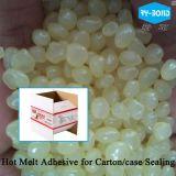 カートンまたはボックスシーリングのための熱い溶解の接着剤