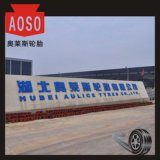 Marca de fábrica famosa de China todos los neumáticos usados área radial de acero de Minning TBR