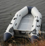 Crogiolo di gomma gonfiabile pieghevole di battello pneumatico del PVC di Liya 3-6m