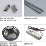 LEDのストリップのLEDのストリップのためのアルミニウムプロフィールチャネルの放出