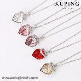 43932 de Charmante Kristallen van de Vorm van het Hart van Ontwerpen Xuping van de Buitensporige Juwelen van de Halsband Swarovski