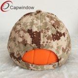 100% Algodón Gorra militarcon bordado en 3D.