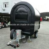 Vendita calda in carrello mobile elettrico dell'alimento dell'India