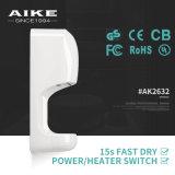 Secador plástico da mão do ABS elétrico automático de alta velocidade de AIKE