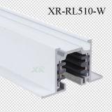 Tres circuitos de aluminio cuadrado LED Empotrables vía ferrocarril (XR-RL510)
