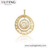 33721 Eenvoudige de manier nam de Gouden Cross Imitation Jewelry Chain Tegenhanger van Jesus in het Koper van de Legering toe