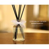 リード拡散器のギフトセットのための芳香オイルが付いている美しい50mlガラス製品の瓶