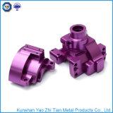Подвергать механической обработке высокой точности части подвергли механической обработке CNC, котор для части металла