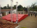 Fardo do telhado do evento do estágio de iluminação do Spigot da liga de alumínio