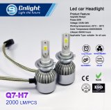 Cnlight Q7-H7 COB barato potente 4300K/6000K Kit de Conversão do Farol do Carro de LED