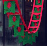 Bandierine d'attaccatura del panno del feltro delle decorazioni di natale