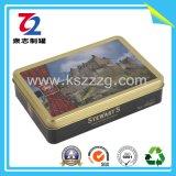 Малая жестяная коробка конфеты, жестяная коробка заедк