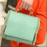 Retro PU 여자 어깨에 매는 가방 핸드백 Crossbody 끈달린 가방