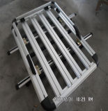 De aluminio con doble Universal Alquiler de rail de techo