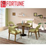 Популярные современные цельной древесины ресторан мебель стол и стулья (FOH-BCA46)