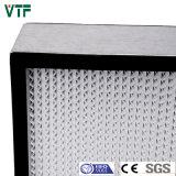 Прессованный фильтр Pleat HEPA алюминия 0.3um HS глубокий