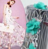 Tela do laço do projeto 3D da forma para a tela do vestido