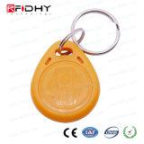 高品質T5577はABS RFIDスマートな主札Keyfobを防水する