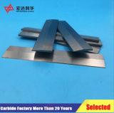 K20 de carburo de tungsteno pistas planas para máquinas herramientas