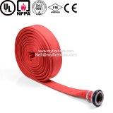 tubo alineado del manguito flexible de la regadera del fuego de la lona 6-20bar
