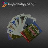 El póker de encargo de las tarjetas que juegan carda el fabricante de la impresión