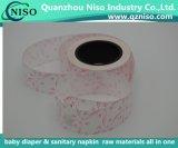 Impresso em papel de liberação de silicone para guardanapo sanitários/Meias Camisa (LSLXZ7211)