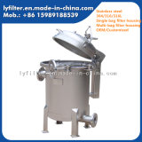 Edelstahl-Beutel-Wasser-Filtergehäuse für Abwasserbehandlung-Projekt