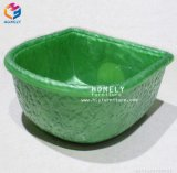 China barata de resina de piedra artificial Rostone Cuenca Pie Bowl