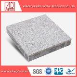 Comitati di alluminio del favo dell'impiallacciatura di pietra antisismica a prova di fuoco di marmo per la copertura per tetti dell'intradosso dei soffitti