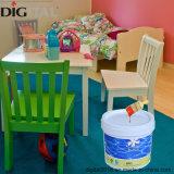 家具のための水ベースカラーによって汚されるコーティング