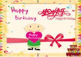 Impresión y fabricación de la tarjeta del deseo del feliz cumpleaños