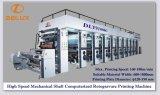 Eixo mecânico de alta velocidade máquina de impressão computarizada do Rotogravure (DLY-91000C)