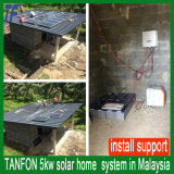 2kw 5kw 10kw de Electricidad Solar generador con sistema de iluminación