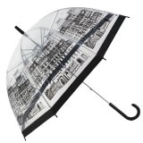 Madame Outdoor Fashion Transparent Umbrella du best-seller 2017 pour la vente en gros