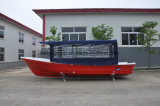 Fábrica do barco da fibra de vidro do barco de pesca do barco do Panga de Liya 25feet