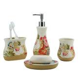 OEMの現代衛生製品セットのための陶磁器の浴室のアクセサリ