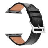 De echte Riem van de Vervanging van het Horloge van het Leer Bijkomende voor Reeks 1/2/3 van het Horloge van de Appel