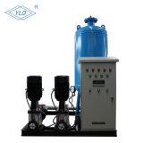 Le dégazage sous vide de la machine usine de traitement de l'eau avec pompe à vide du réservoir