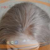 Parrucca brasiliana bionda del merletto dei capelli del Virgin (PPG-l-01831)