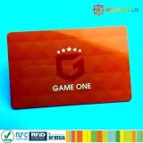 cartão de sociedade do negócio do metal de 13.56MHz NTAG213 NFC
