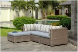 Sofá mimbre Muebles de Exterior conjunto Sofá Mobiliario de jardín